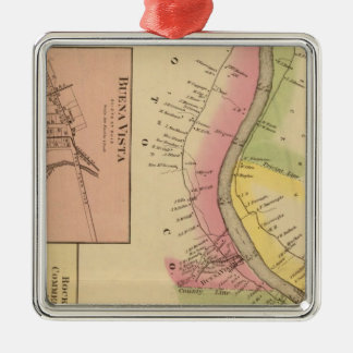 Upper Ohio River and Valley 6 Christmas Ornament