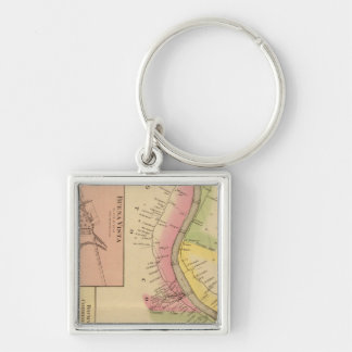 Upper Ohio River and Valley 6 Key Ring