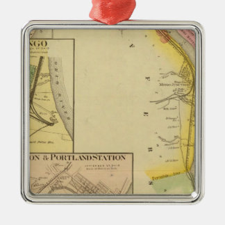 Upper Ohio River and Valley 7 Christmas Ornament