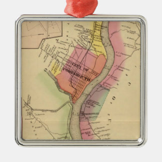 Upper Ohio River and Valley 8 Christmas Ornament