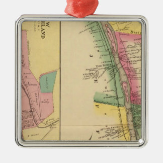 Upper Ohio River and Valley 9 Christmas Ornament