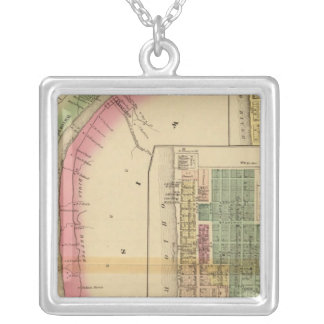 Upper Ohio River and Valley 9 Silver Plated Necklace