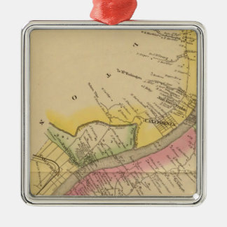Upper Ohio River and Valley Christmas Ornament
