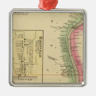Upper Ohio River and Valley part Christmas Ornament