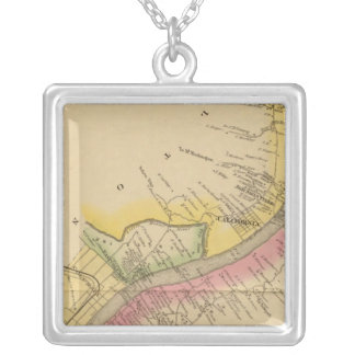 Upper Ohio River and Valley Silver Plated Necklace