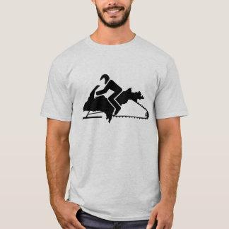 """""""Upper Peninsula UP Sled"""" Sledders.com Ash T-shirt"""