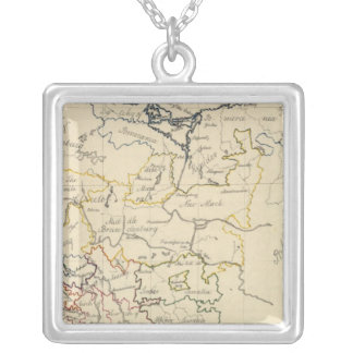 Upper Saxony 2 Silver Plated Necklace