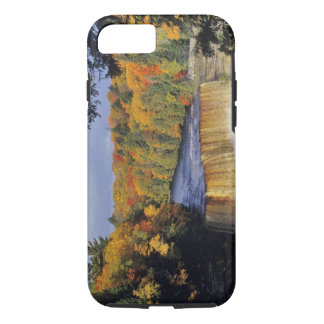 Upper Tahquamenon Falls in UP Michigan in autumn iPhone 8/7 Case