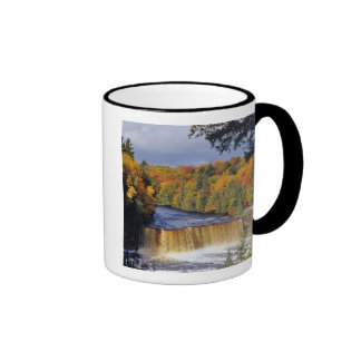 Upper Tahquamenon Falls in UP Michigan in autumn Mugs