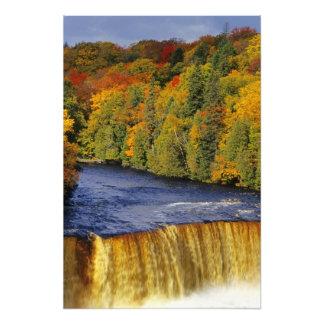 Upper Tahquamenon Falls in UP Michigan in Photo Print