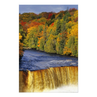 Upper Tahquamenon Falls in UP Michigan in Photo Print