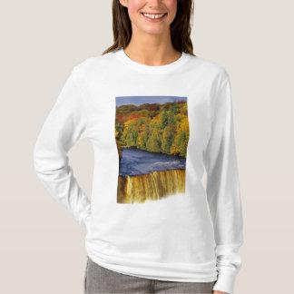 Upper Tahquamenon Falls in UP Michigan in T-Shirt