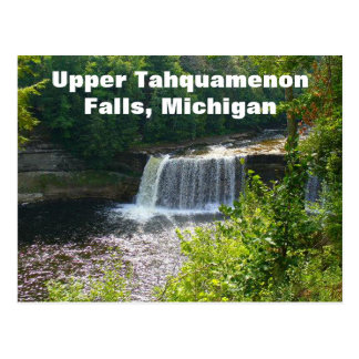 Upper Tahquamenon Falls, Michigan Postcard