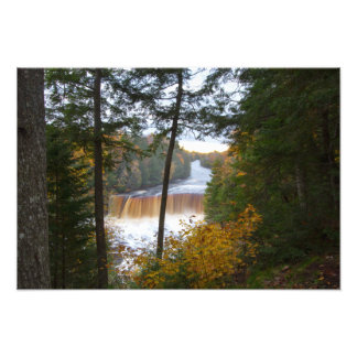 Upper Tahquemenon Falls, Autumn, Michigan Photographic Print