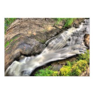 Upper Taughannock Falls, New York Photo Art