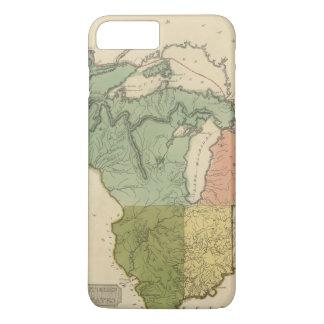 Upper Territories of the the United States iPhone 8 Plus/7 Plus Case