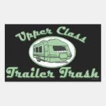 Upper Trailer Trash stickers