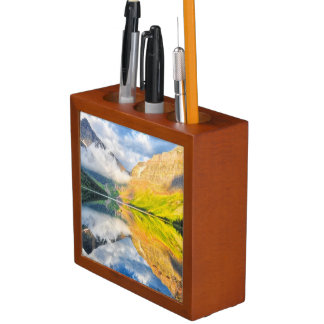 Upper Two Medicine Lake at Sunrise Desk Organiser