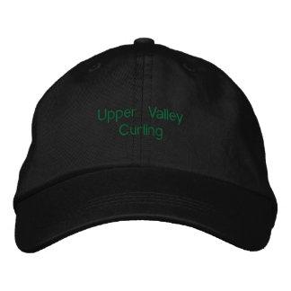 Upper Valley Curling Adjustable Hat Baseball Cap