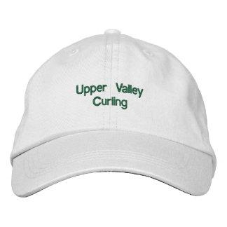 Upper Valley Curling Adjustable Hat Embroidered Cap