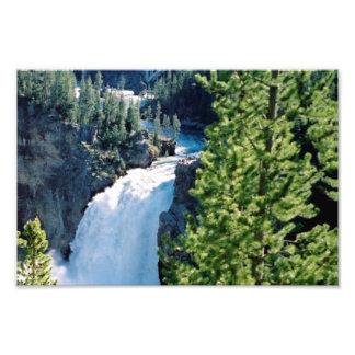 Upper Yellowstone Falls Photo