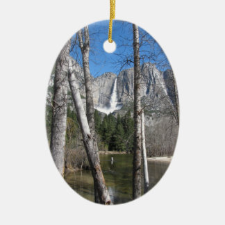 Upper Yosemite Falls Christmas Ornament