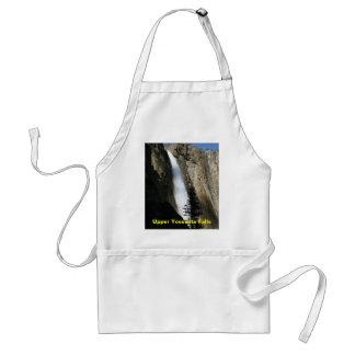 Upper Yosemite Falls in California Apron