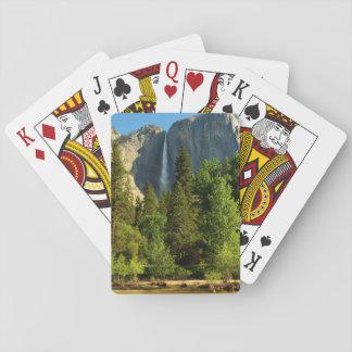 Upper Yosemite Falls, Merced River, Yosemite Playing Cards