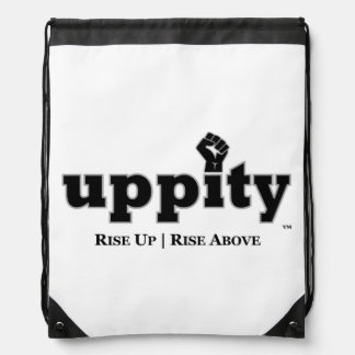 Uppity Power Drawstring Backpack