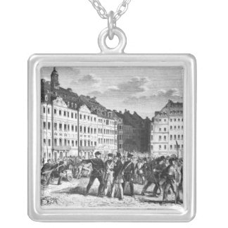 Uprising in Dresden Silver Plated Necklace