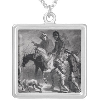 Uprising of the New England Yeomanry Silver Plated Necklace