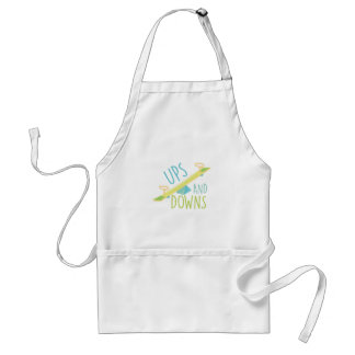 Ups And Downs Standard Apron