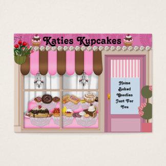 UPSCALE Bake Shop  Business Card Custom