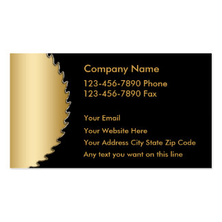 Upscale Handyman Business Cards