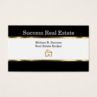 Upscale Real Estate Broker Business Card