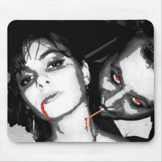 Upscale Vampire Mousepads