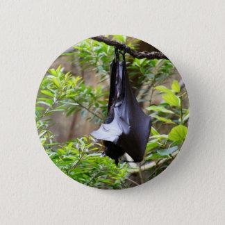 Upside Down 6 Cm Round Badge