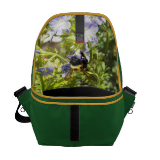 Upside Down Bumble Bee Commuter Bag