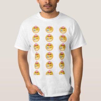 Upside down crazy face emoji! T-Shirt