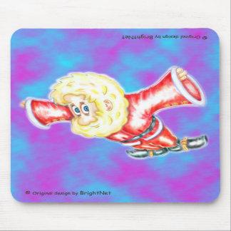 Upside-down Dwarf Mousepad