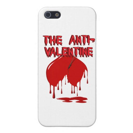 Upside Down Heart w/Puddle (Anti-Valentine) Cases For iPhone 5