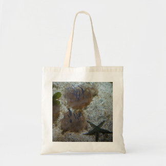 Upside-down Jellyfish Tote Bag