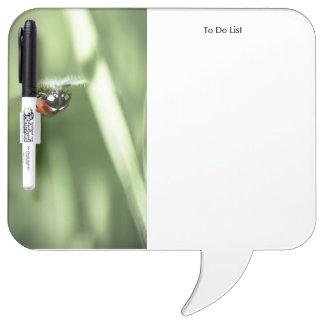 Upside down Ladybird Dry-Erase Whiteboard