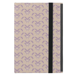 Upside down lavender pattern cover for iPad mini