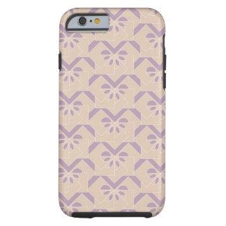 Upside down lavender pattern tough iPhone 6 case