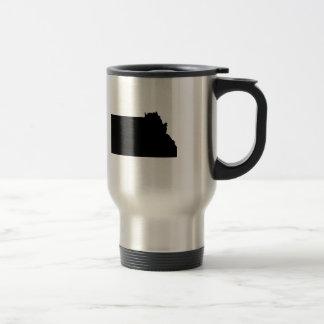 Upside Down Map of Montana Coffee Mug