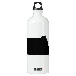 Upside Down Map of Montana SIGG Traveller 1.0L Water Bottle