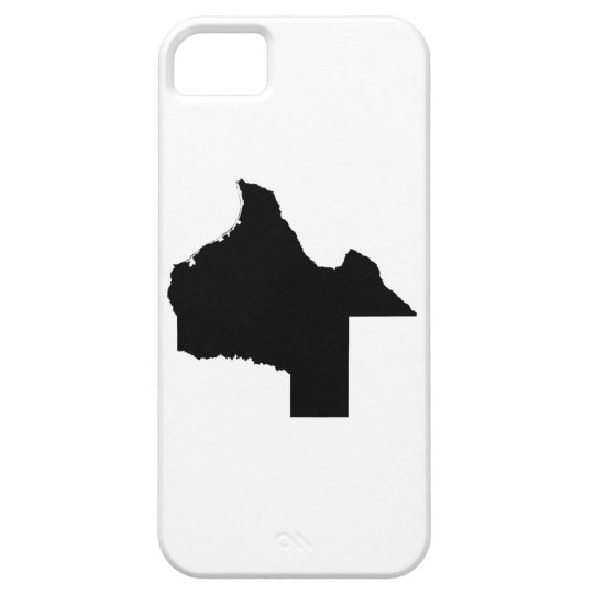 Upside Down Map of Texas iPhone 5 Cases
