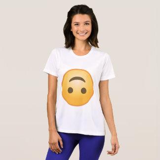 Upside-Down Smile Emoji T-Shirt