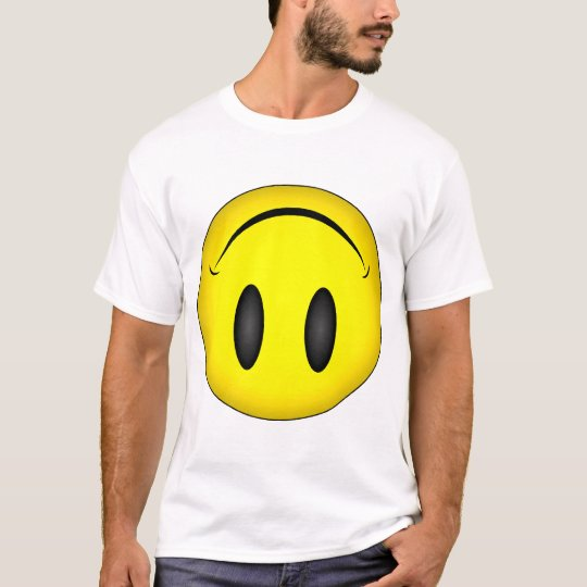 Upside Down Smiley face T-Shirt